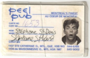 Stephane St-Denis Peel pub